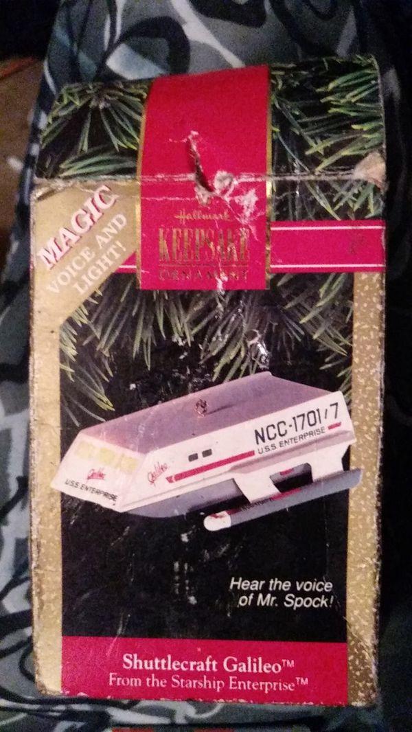 Shuttlecraft galileo from the starship enterprise