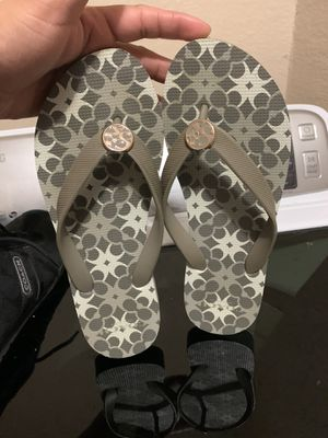 Coach sandals sz 5/6 in like new condition $10 for Sale in Fort Worth, TX
