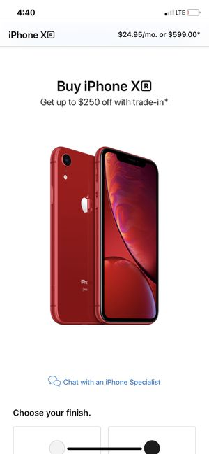 Red IPhone XR for Sale in Coarsegold, CA