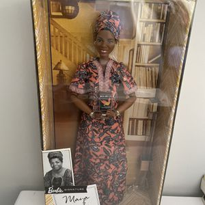 Maya Angelou Signature Inspiring Women Series Collector Doll Barbie for Sale in Alhambra, CA