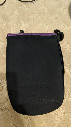 Camera lens felt case for Sale in Cypress, CA