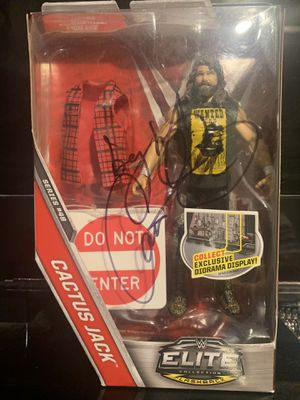 WWE SIGNED Mick Foley Cactus Jack Elite for Sale in Milpitas, CA