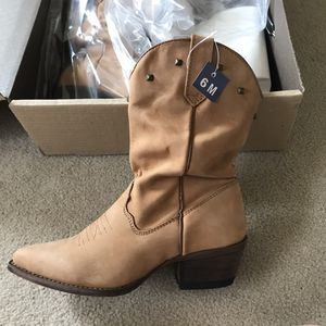 JB Dillon women's cowboy boots size 6 new in box w tags never opened for Sale in San Francisco, CA