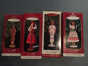Holiday Barbie Ornaments for Sale in Manassas, VA