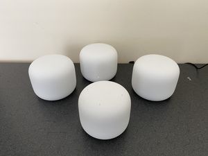 Google Nest WiFi Mesh Router (3 Routers 1 WiFi Point) for Sale in Cary, NC