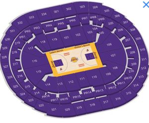 Laker Tickets for Sale in Los Angeles, CA