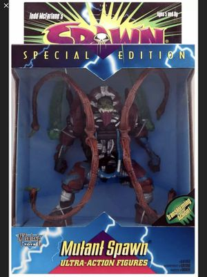Mutant Spawn - McFarlane Toys - Ultra-Action Figure - Special Edition - Transforming Action - Vintage - Brand New - Exclusive Toys for Sale in Hawthorne, CA