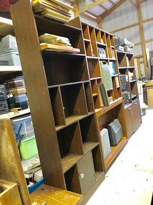 Room divider bookshelves mid century modern retro vintage shelving shelves MCM for Sale in Latrobe, PA