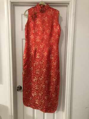 Women's Chinese Style Sleeveless Dress for Sale in Henderson, NV