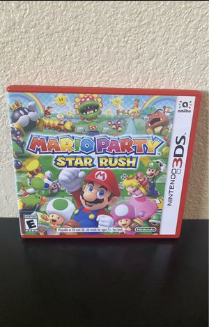 Mario Party Star Rush for Sale in Long Beach, CA