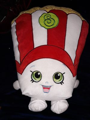 Shopkins popcorn stuff animal Southside or shipping available for Sale in San Antonio, TX