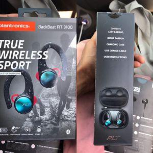 Plantronics BackBeat FIT 3100 True Wireless Earbuds, Sweatproof and Waterproof in Ear Workout Headphones for Sale in Jacksonville, FL