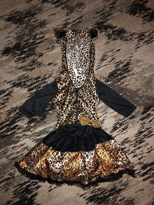 Girls Sassy Leopard Halloween Costume Dress for Sale in Fresno, CA
