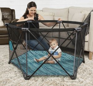 Baby delight Go With Me™ Haven Portable Playard – Watercolor Stripe for Sale in Las Vegas, NV