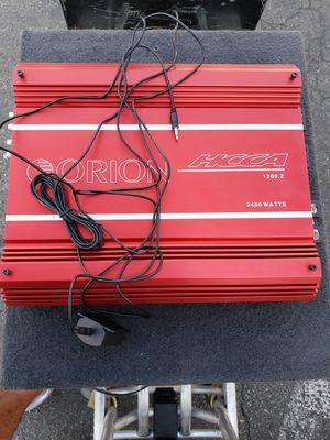 Orion hcca 1200.2 amplifier class a/b amp fosgate ppi kicker alpine Memphis diamond audio re audio for Sale in Santa Ana, CA