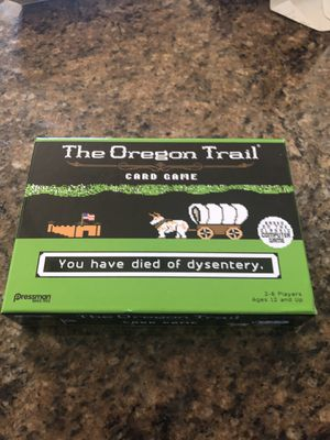 The Oregon Trail Card game (age 12 up) for Sale in Charlotte, NC