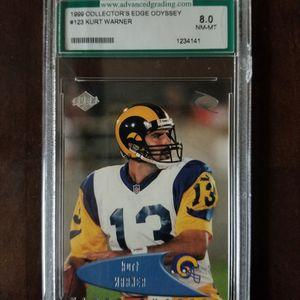 Kurt Warner Graded Football Card. for Sale in Lodi, CA