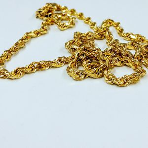 14k gold rope chain for Sale in West Hartford, CT