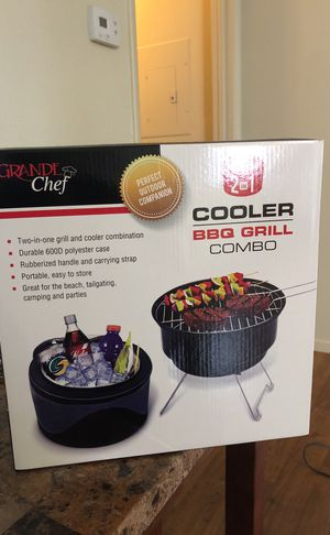 Cooler and gril for Sale in Las Vegas, NV