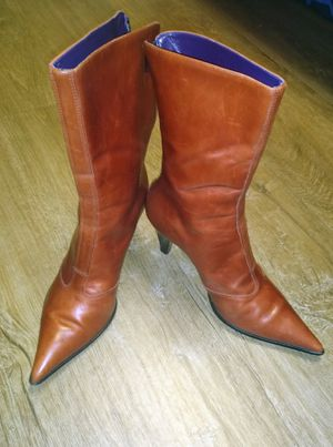 Steven woman's Italian leather boots for Sale in Denver, CO