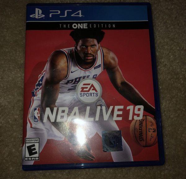 NBA LIVE 2019 PS4