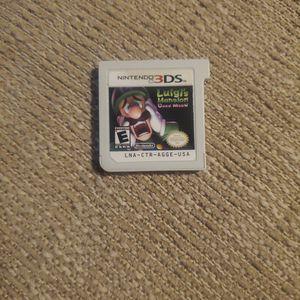 Luigi's Mansion Dark Moon 3DS for Sale in Mesa, AZ