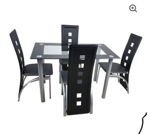 Smoke Black 5 piece Kitchen Set for Sale in Columbus, OH