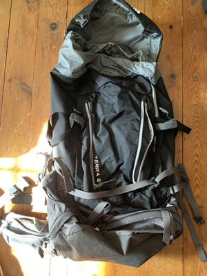 NORTHFACE TERRA 65L Backpack - Never used for Sale in Southington, CT