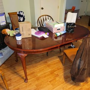 Dining Table With 5chairs And two Love Seats (NE Salem ) for Sale in Salem, OR