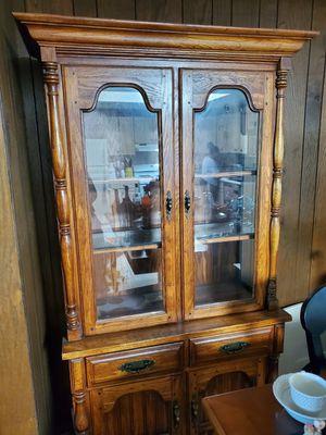 Antique china cabinet for Sale in Brockton, MA