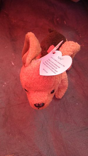Taffy beanie baby with tag errors for Sale in Long Beach, CA
