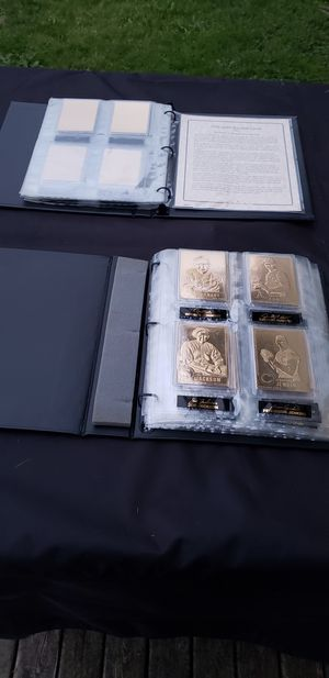 22 carat gold baseball cards for Sale in Lake Stevens, WA