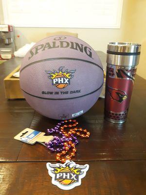 Phoenix suns cardinals misc fun merchandise for Sale in Chandler, AZ
