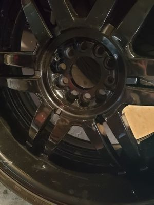 325$ 22inch black rims for Sale in Hudson, FL