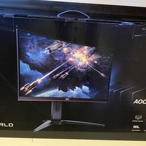 """AOC 23.6"""" LED Curved Gaming Monitor, VESA Mount, 24G1OD for Sale in Mission Viejo, CA"""