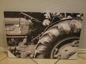 Canvas art tractor farmhouse picture for Sale in Cedar Hill, TX