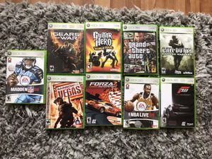 9- Xbox 360 game bundle for Sale in San Diego, CA