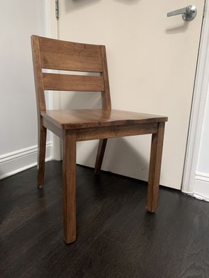 Set of 4 Wooden Chair - Original Price $125 for Sale in Brooklyn, NY