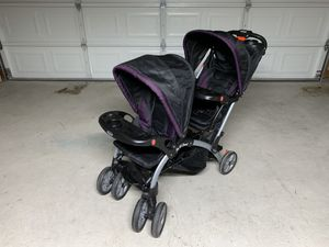 Baby Trend Sit N' Stand Double Stroller for Sale in Auburn, WA