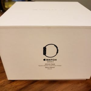 Apple Watch 2 Space Grey Stainless Steel in Box for Sale in Seattle, WA