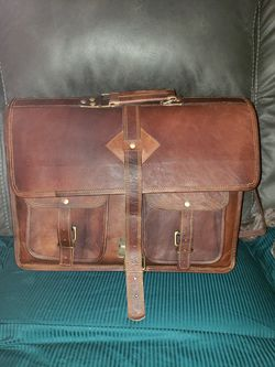 Leather messenger bag for Sale in Pittsburgh,  PA