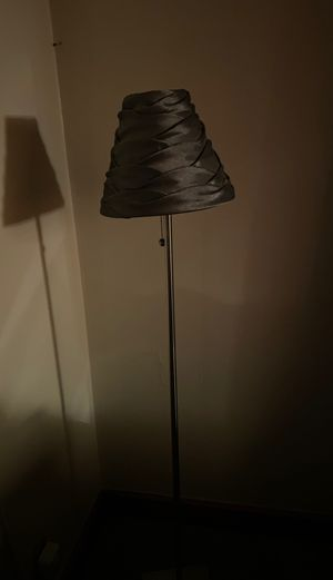 Silver floor lamp for Sale in Clinton, MD