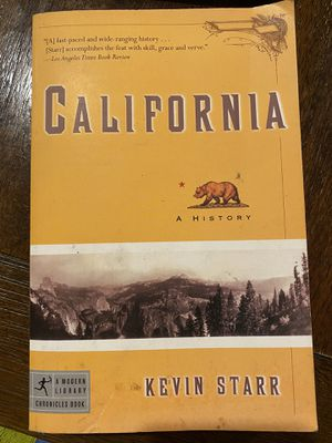 California by Kevin Starr for Sale in East Compton, CA