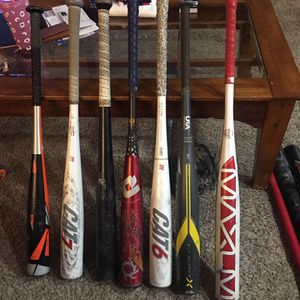 Baseball Bats. Bbcor, USA Bat for Sale in Kent, WA
