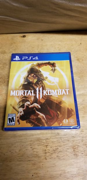 Mortal kombat 11 Brand New PS4 for Sale in Chino Hills, CA