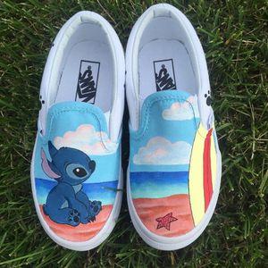STITCH CUSTOM VANS | Vans shoes | Art Work for Sale in Corona, CA
