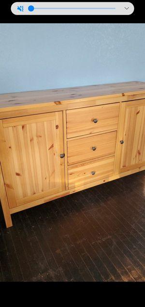 Low boy dresser solid wood dresser for Sale in San Diego, CA
