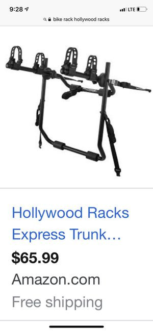 Hollywood racks express trunk mounted bike rack for Sale in Vancouver, WA