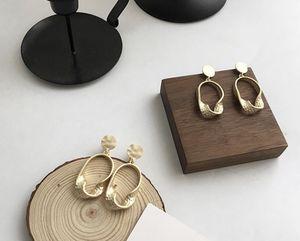 Matt gold oval stud earrings for Sale in Rowland Heights, CA