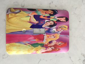 DISNEY princess switch plate for Sale in Angier, NC